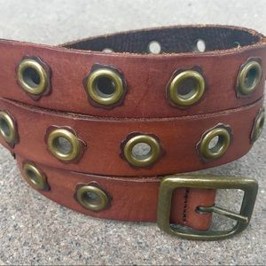 NEW American Eagle Brown Leather Belt